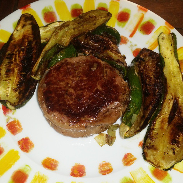 tournedos courgettes