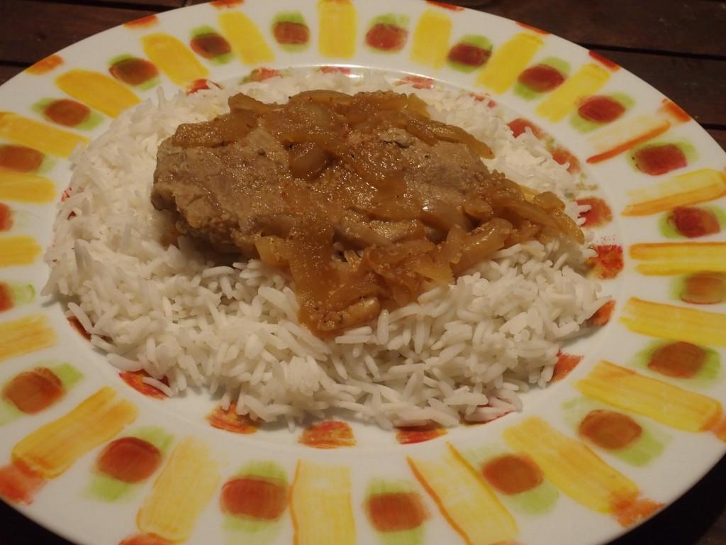 Un plat d licieux et l ger le veau l orange blogs de cuisine - Plat facile et leger ...