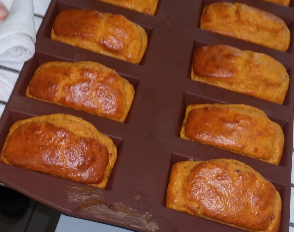 recette madeleines chorizo tomates