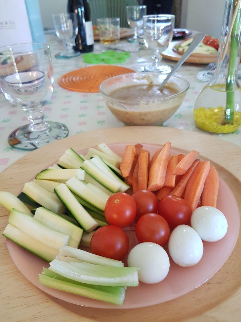 recette legumes dip trempette aperitif