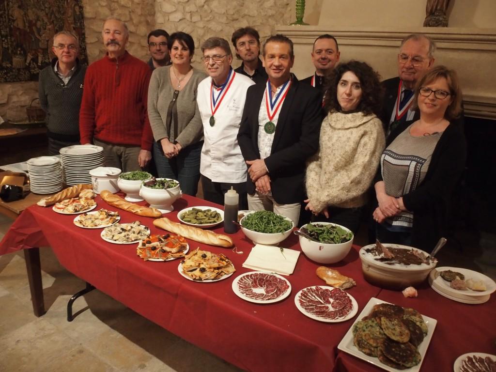 Ch teau virant une journ e gastronomique organis e par l for Academie de cuisine