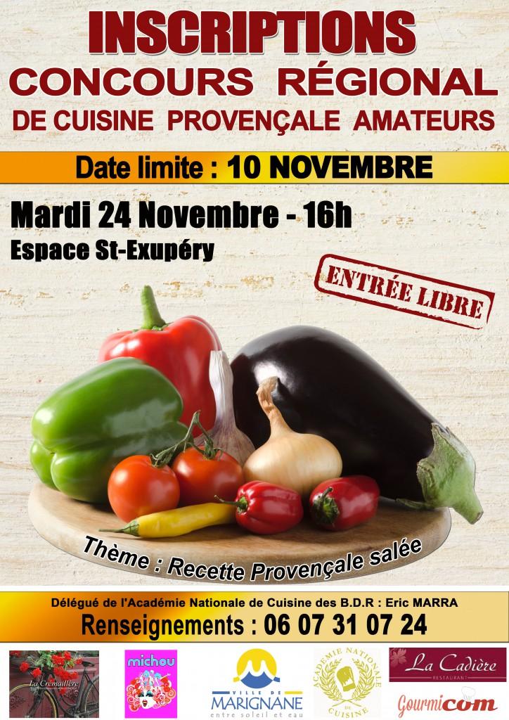 Affiche concours cuisine 2015