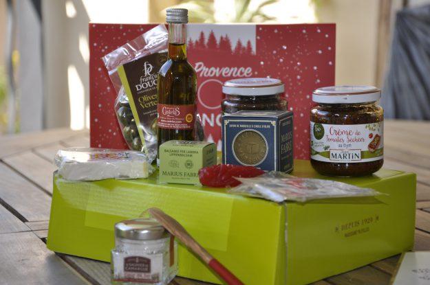 Un beau cadeau : la Provence Box de Noël de Jean Martin