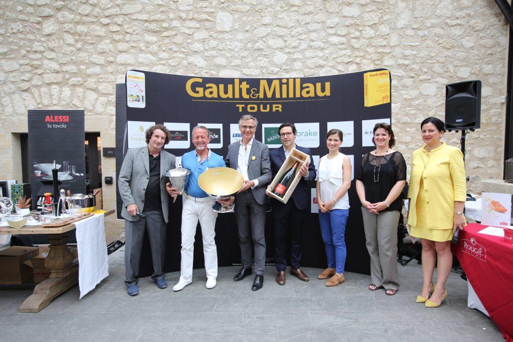 gault&millau tour 2018 PACA