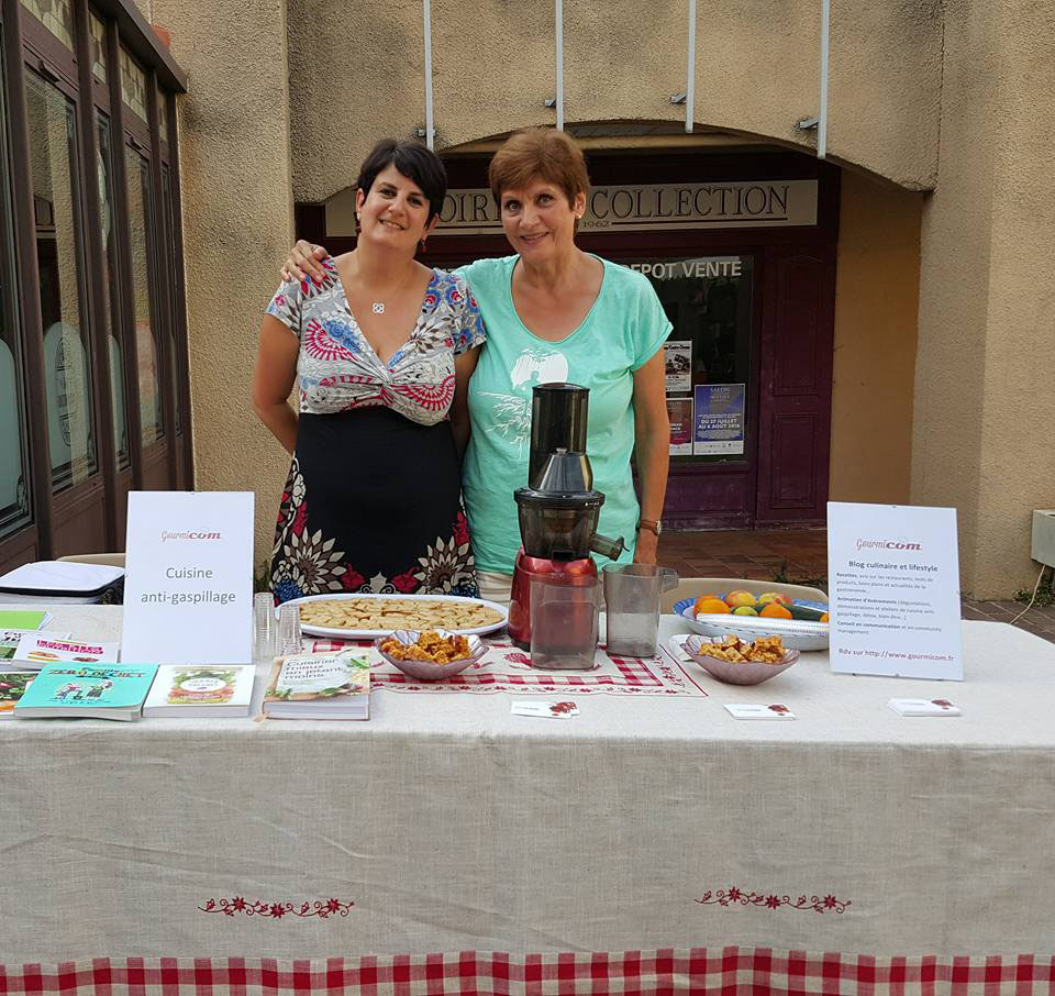 Gourmicom marche createurs salon provence