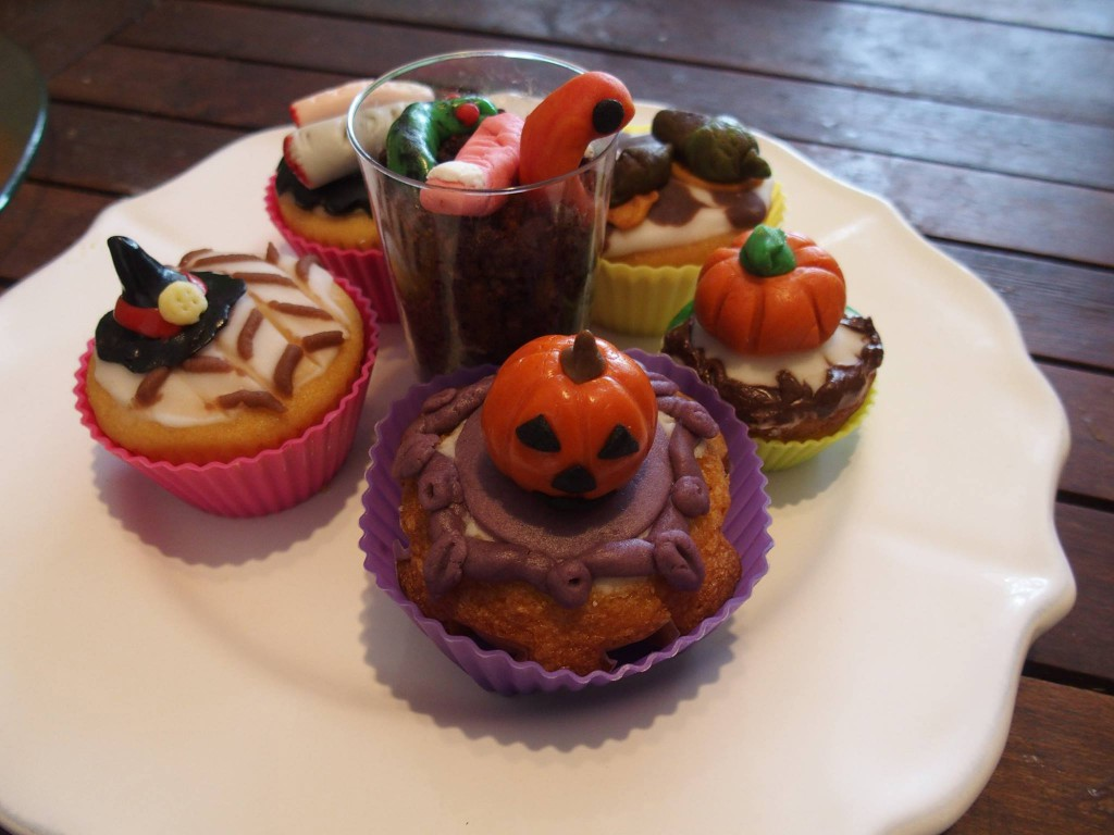 Halloween recette cupcakes muffins