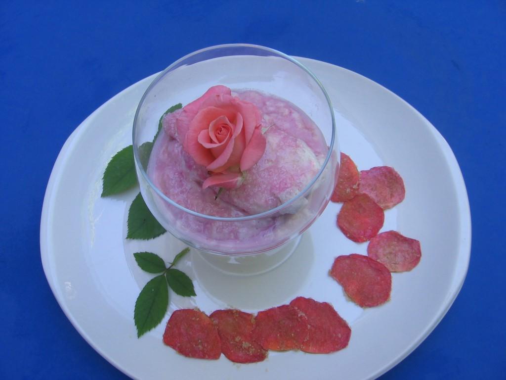 iles flottantes rose recette creme