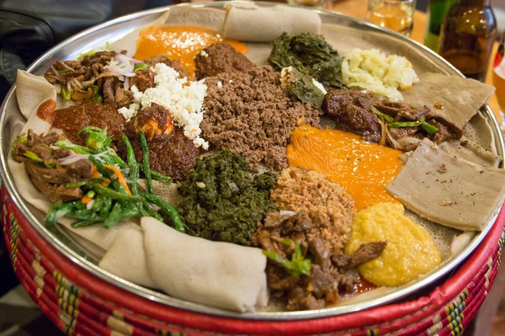 injera recette cuisine éthiopienne crepe