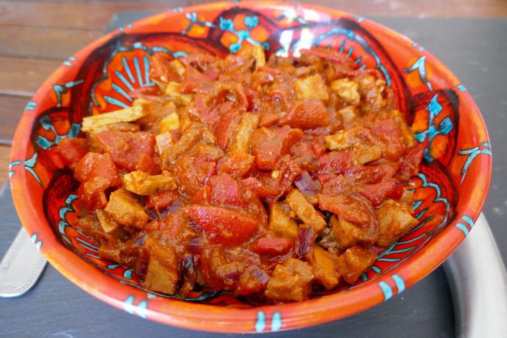 recette veau poivrons tomates