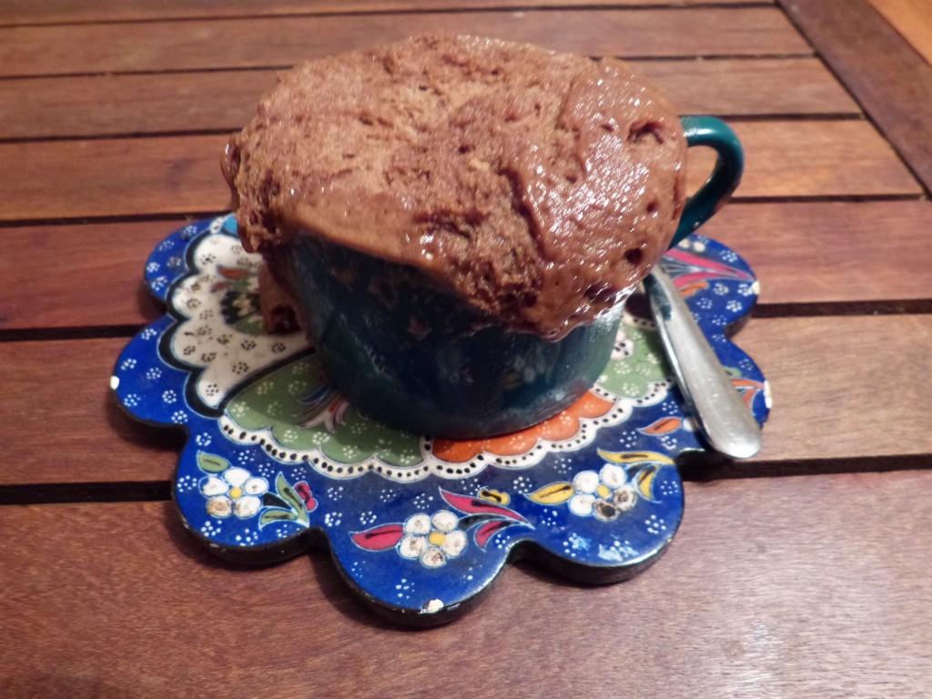 recette mug cake pate a tartiner noisettes