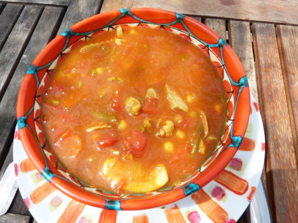 soupe marocaine agneau recette