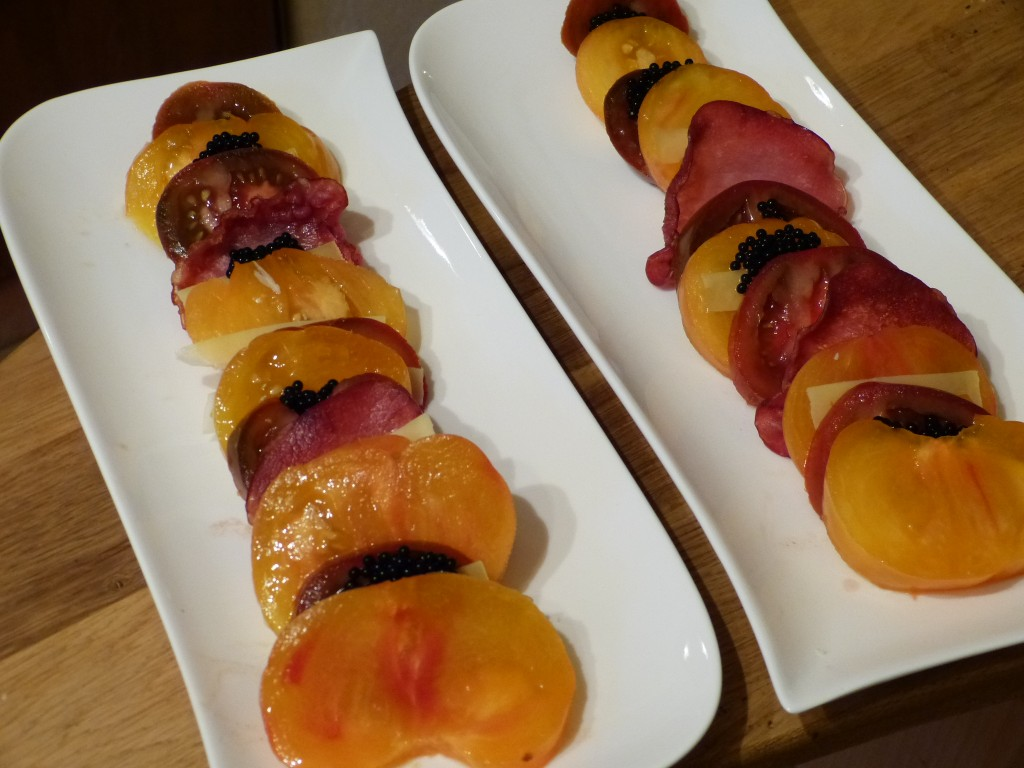 recette salade tomates truffe