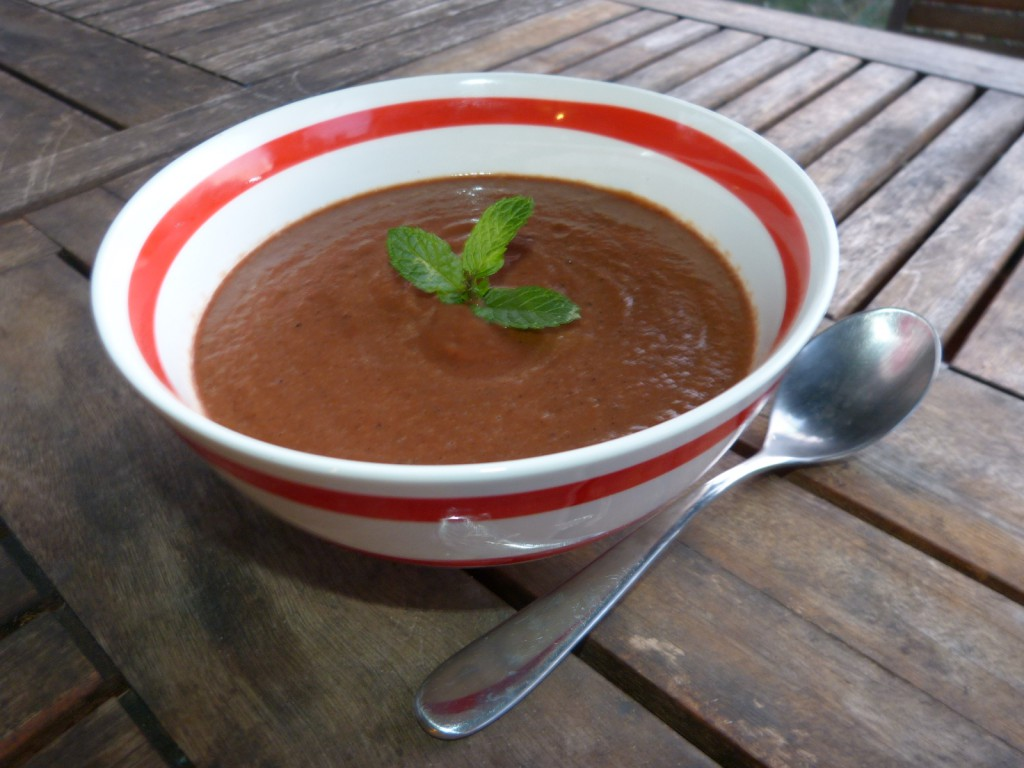 recette veloute betterave soupe