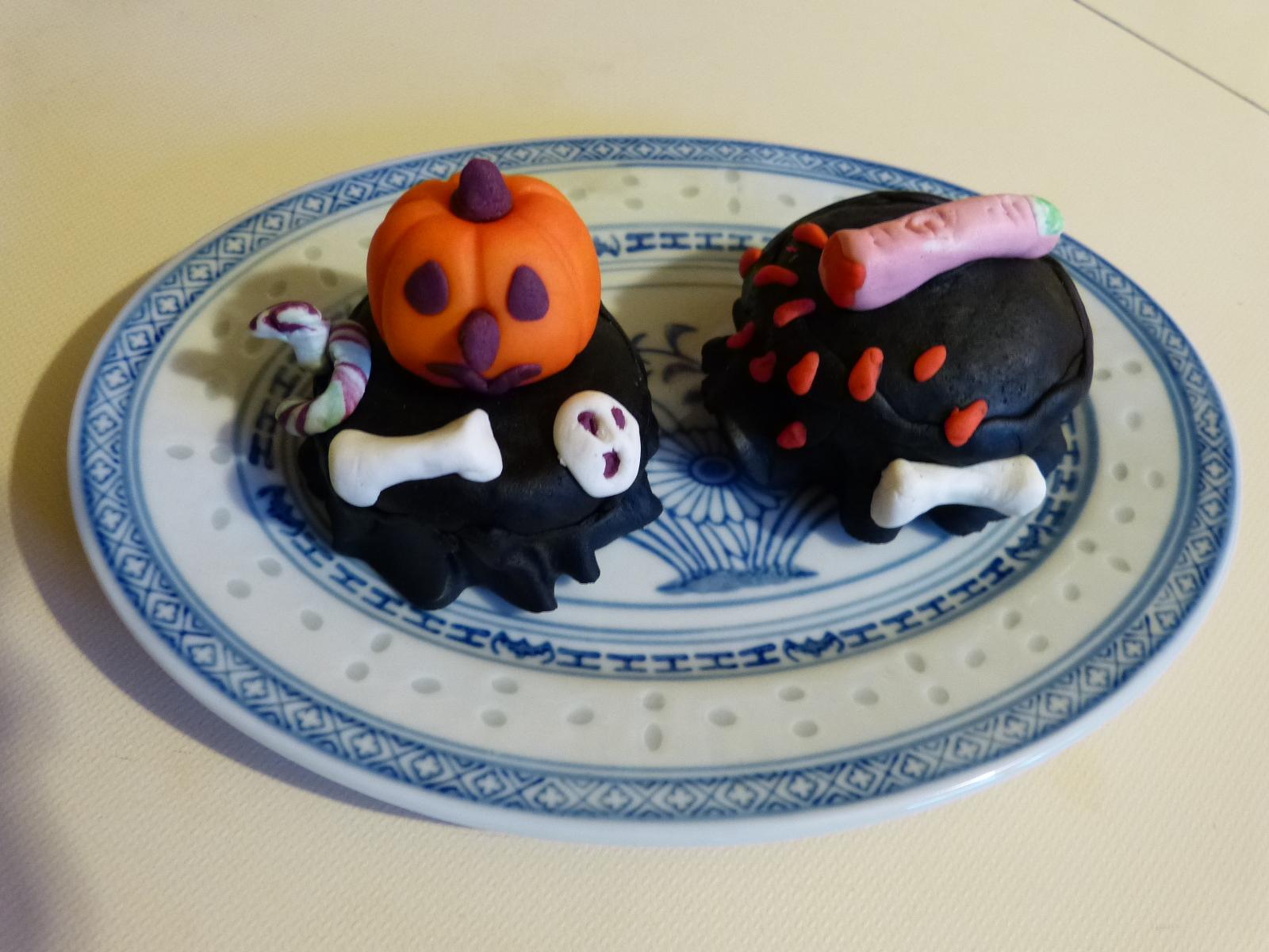 Des cupcakes effrayants pour Halloween