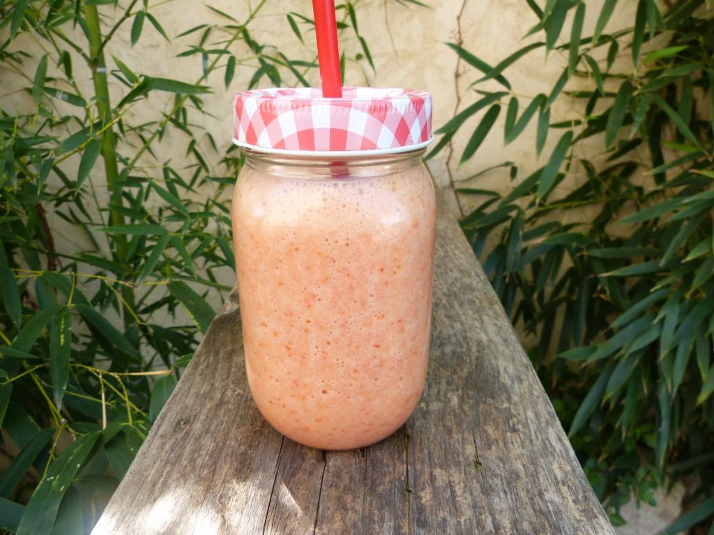 recette smoothie fraises banane aloe vera