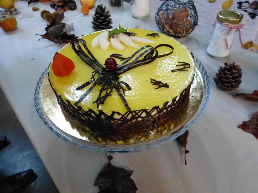 recette bavarois poire chocolat