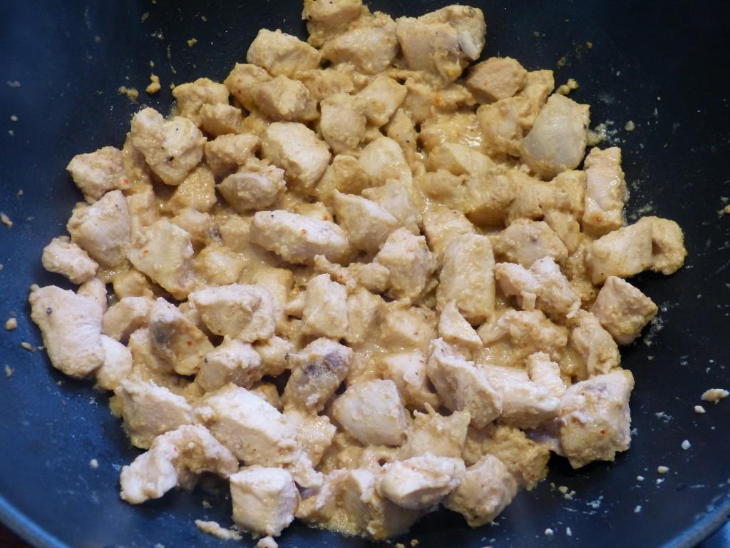 recette poulet wok miel