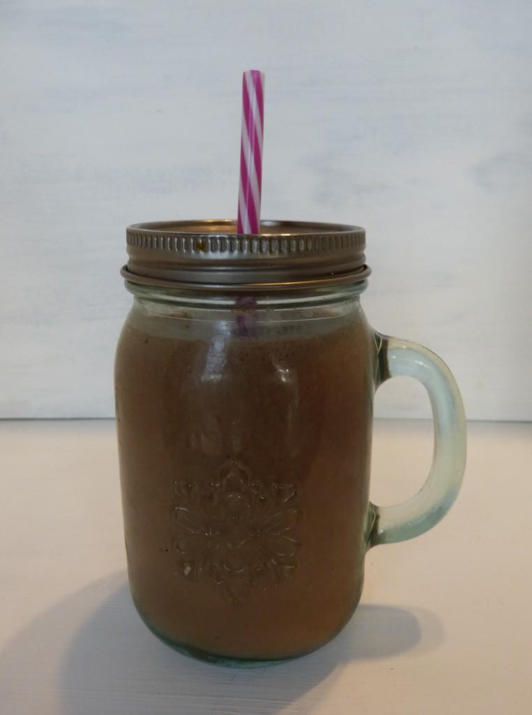 recette smoothie cacao banane coco
