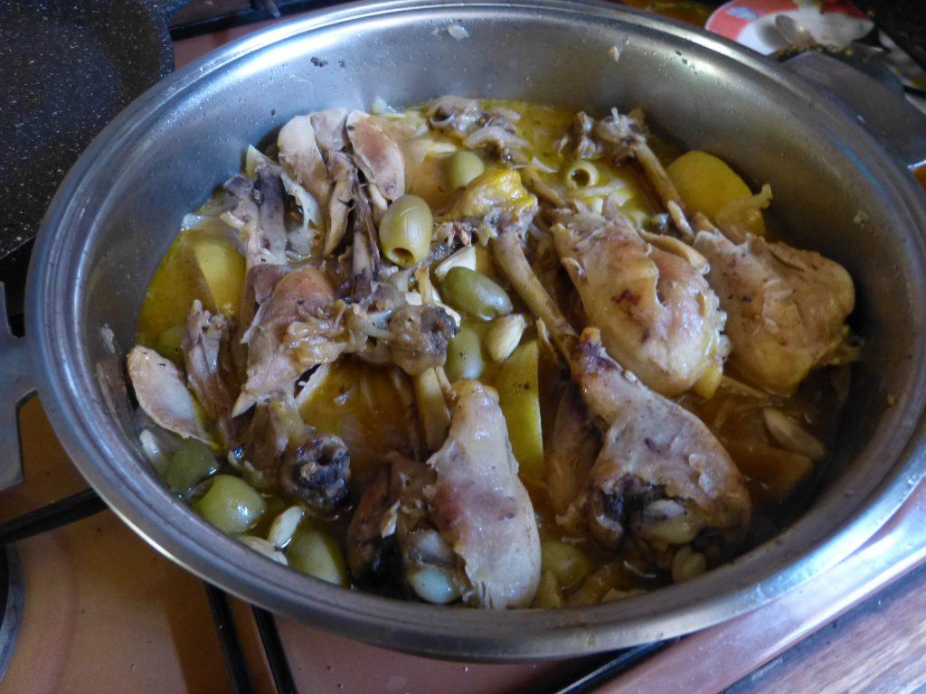 recette tajine poulet olives
