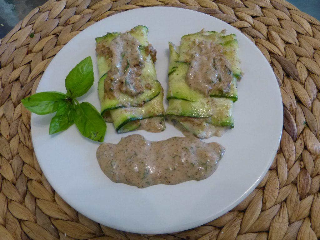 recette courgettes basilic