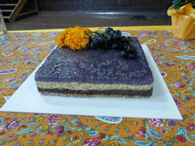 Dégustez le délicieux gâteau tricolore végan d'Irène Lorient