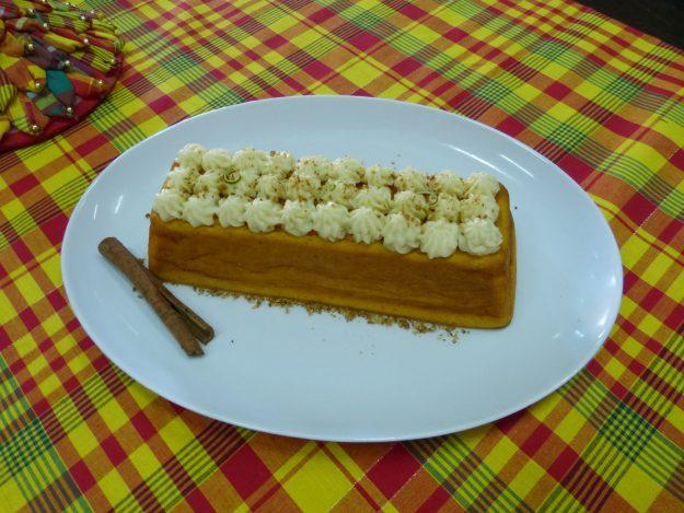 Un délicieux gâteau sans gluten et sans lactose : le caribe