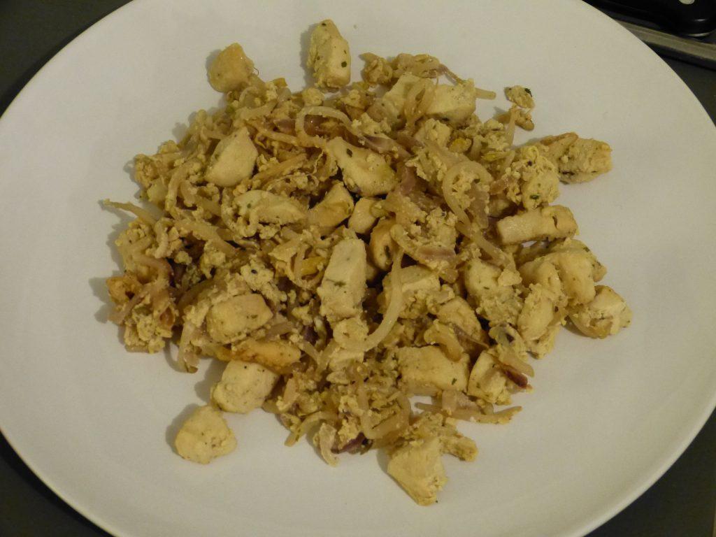 recette oeufs poulet
