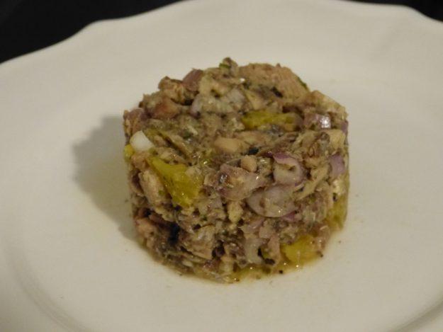 Un plat original : le tartare de sardines à l'orange