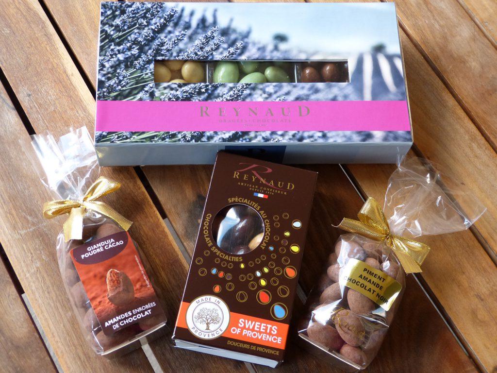 amandes chocolat reynaud marseille