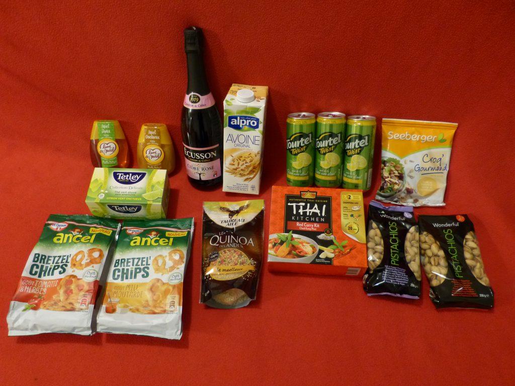 degustabox avis foodbox chandeleur