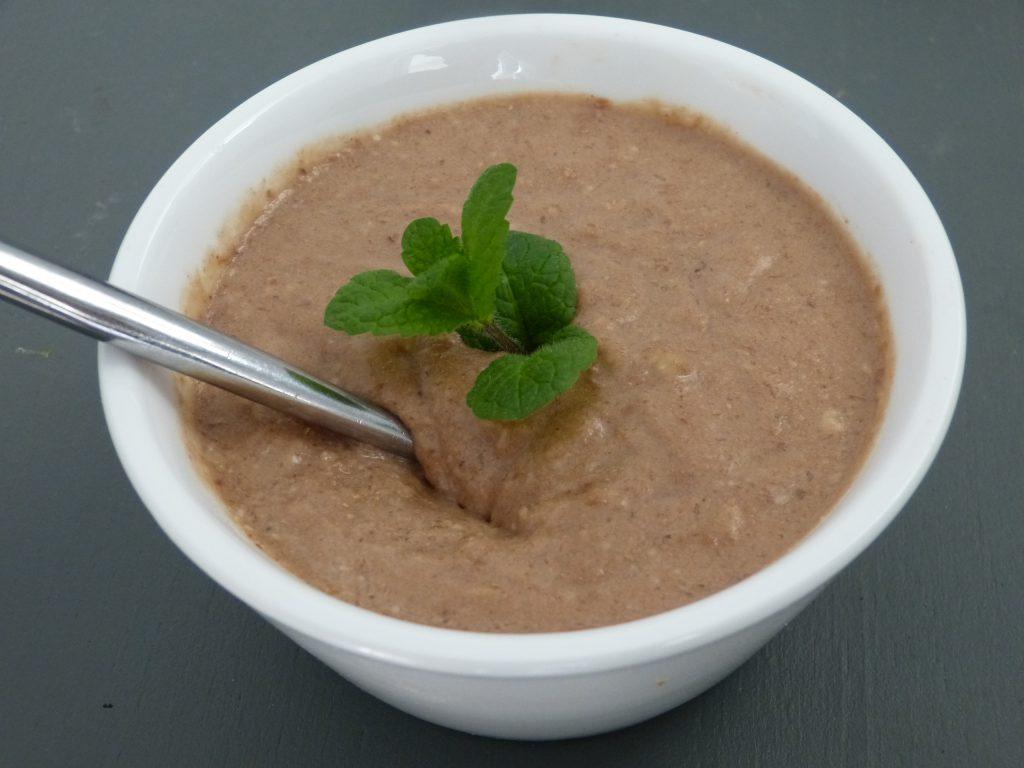 recette mousse vegan banane chocolat