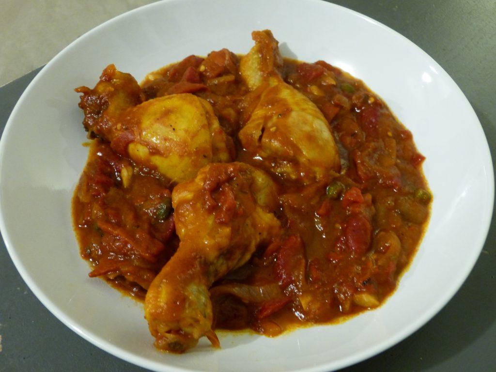 recette poulet alla puttanesca