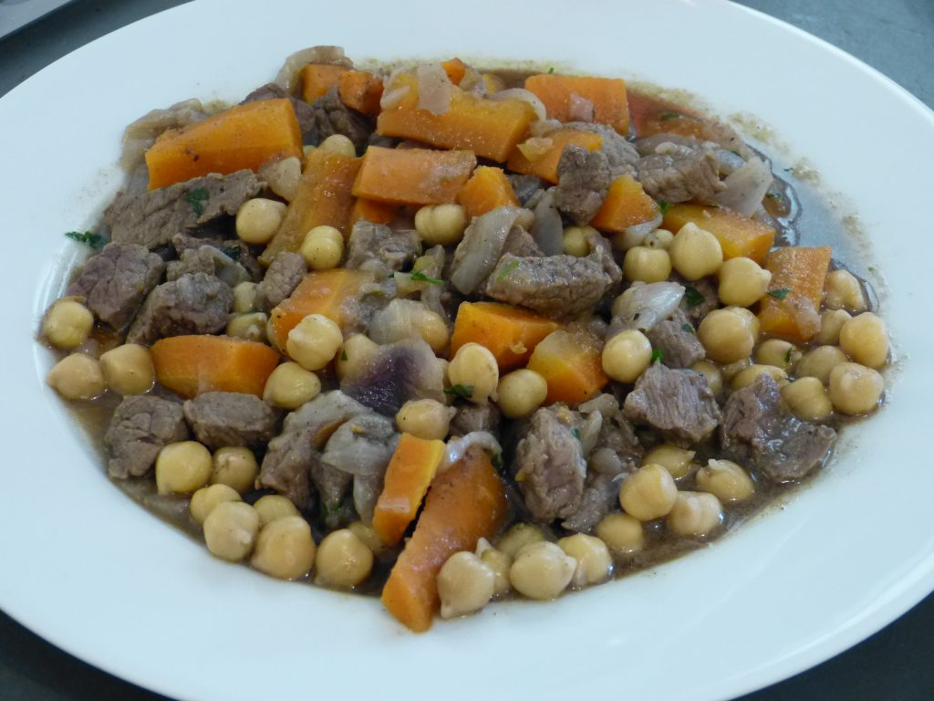 recette tajine boeuf carottes