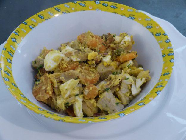 Escalopes de veau aux champignons et oeufs
