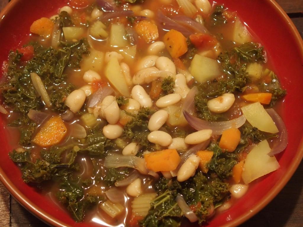 recette cuisine italienne chou kale Ribollita