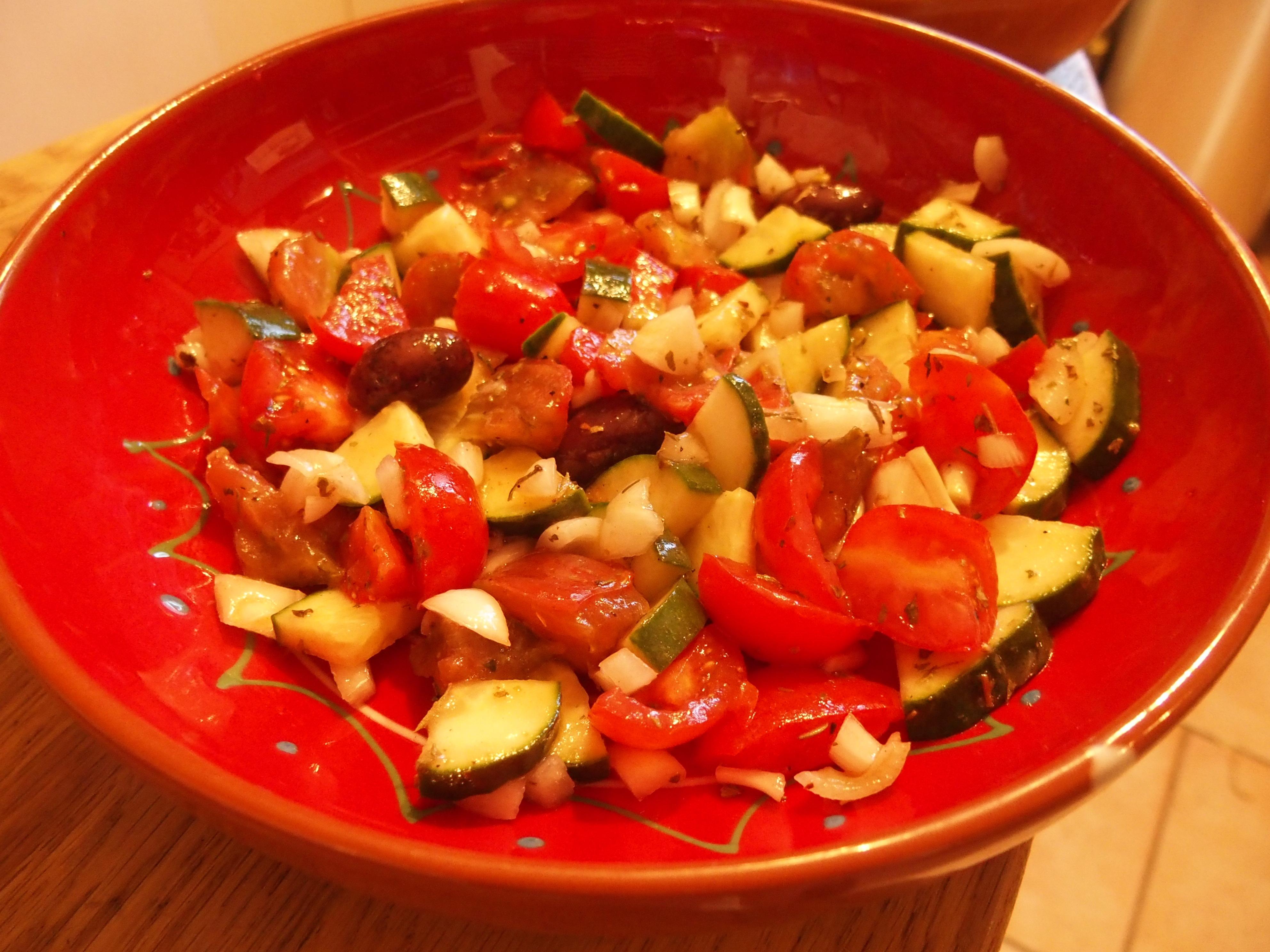 Dégustez une bonne salade grecque