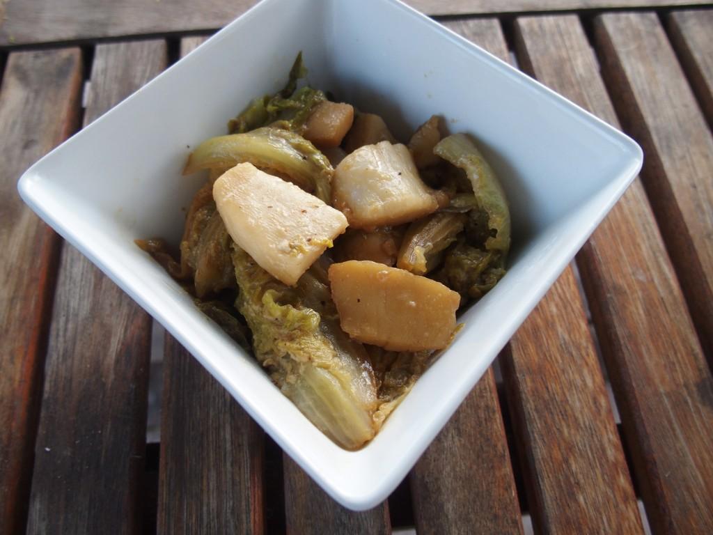 recette laitue saint-jacques