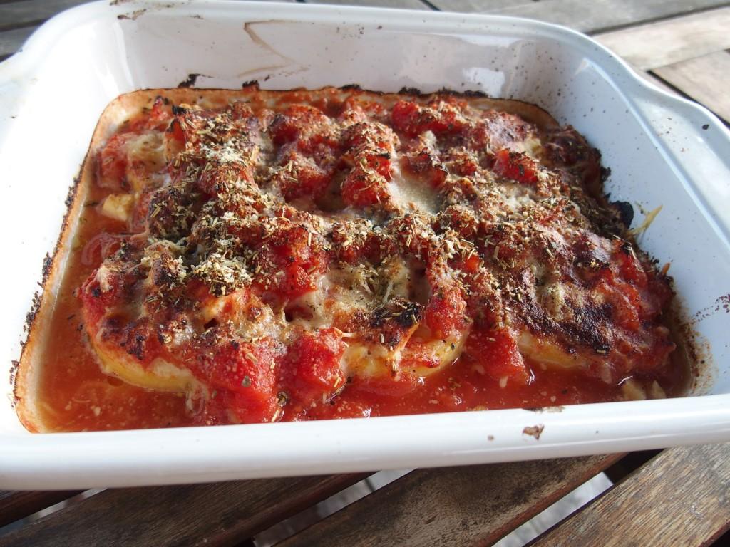 recette gratin polenta