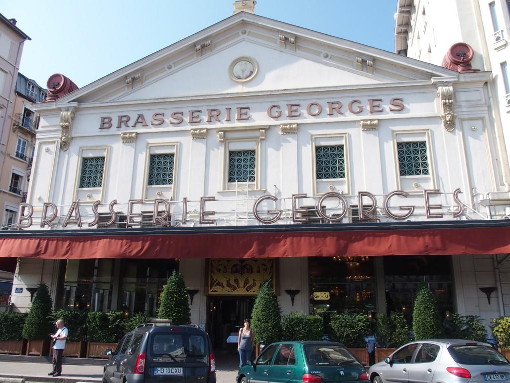 brasserie georges lyon avis restaurant