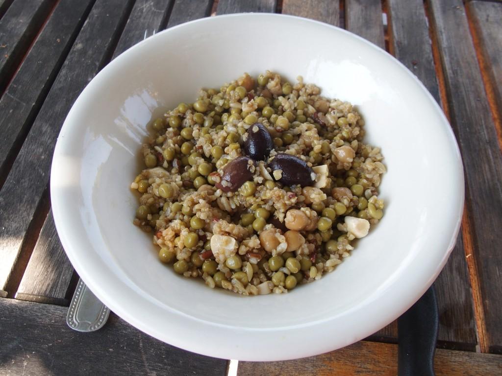 recette salade pois chiches quinoa