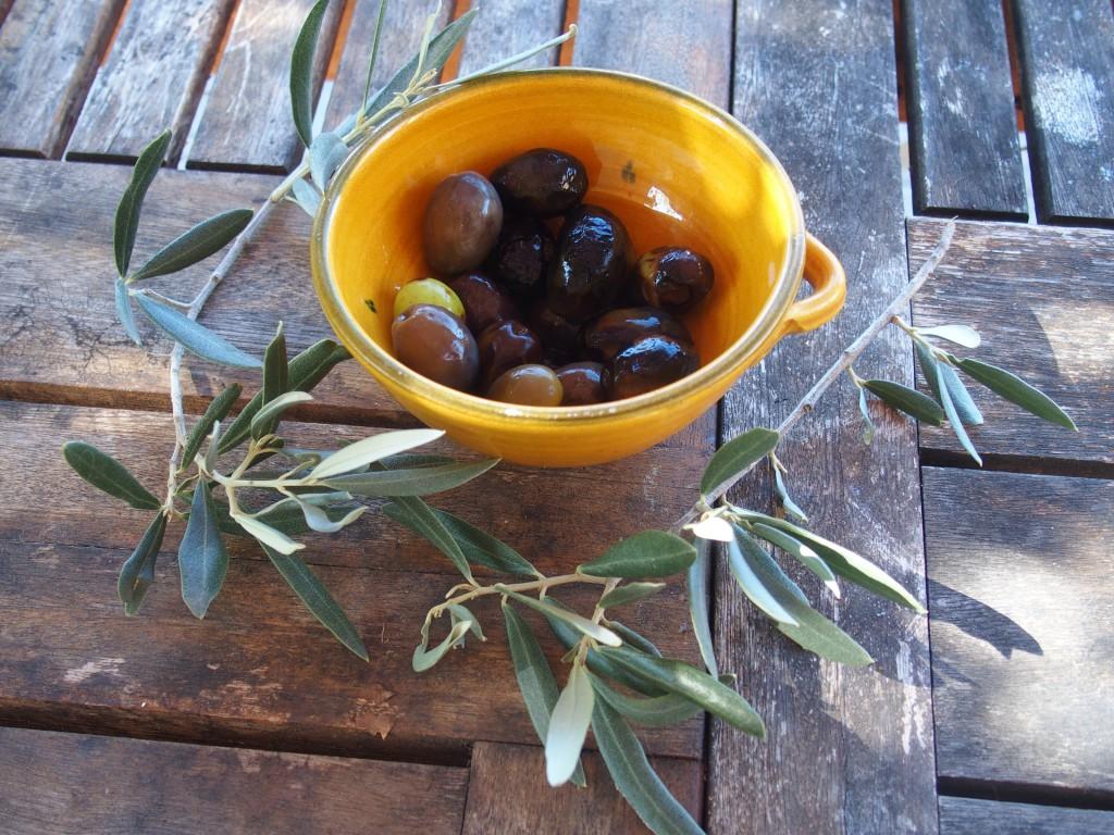 recette olives cendre provence