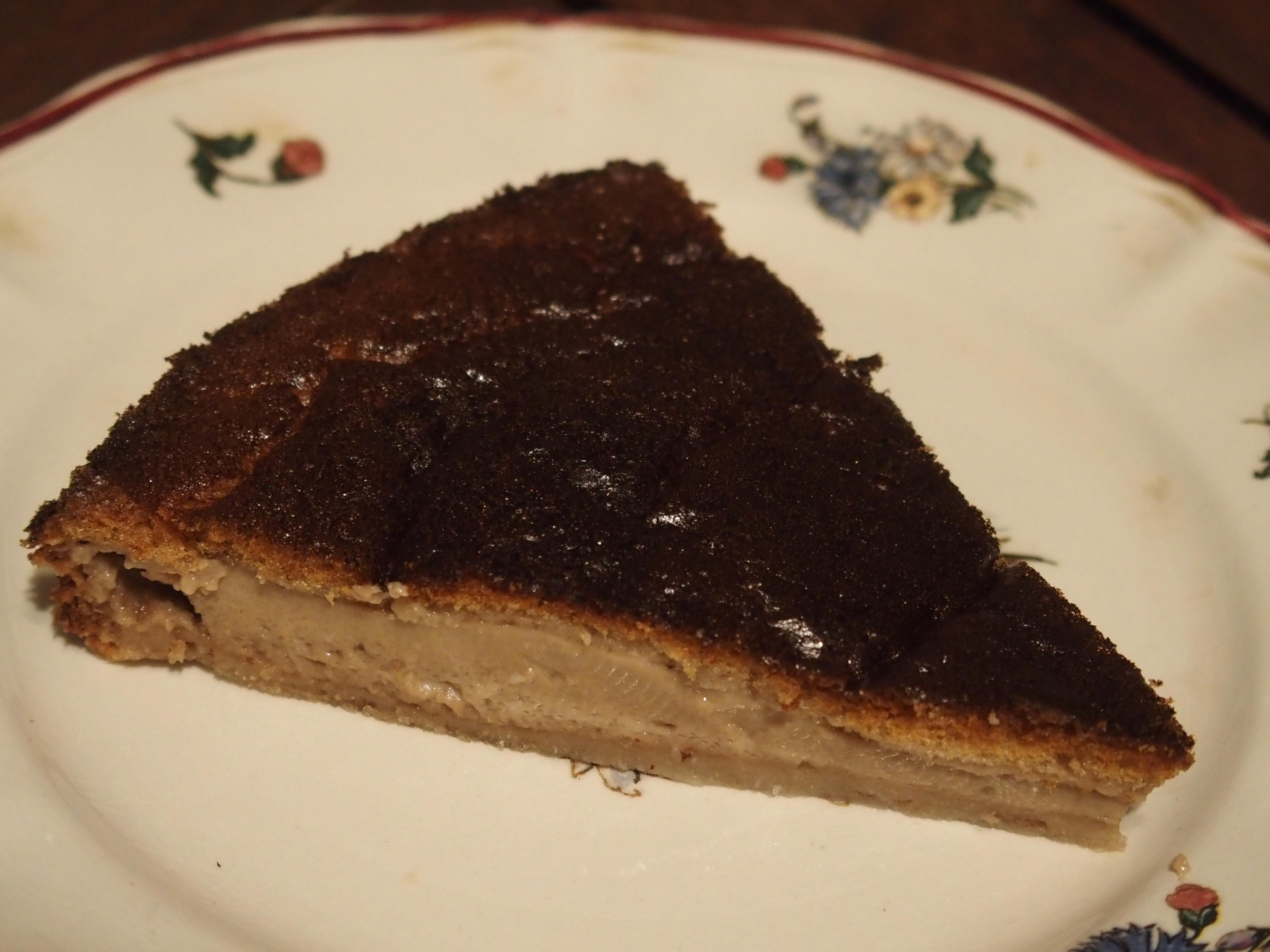 Gâteau magique à la pâte à tartiner chocolat noisettes