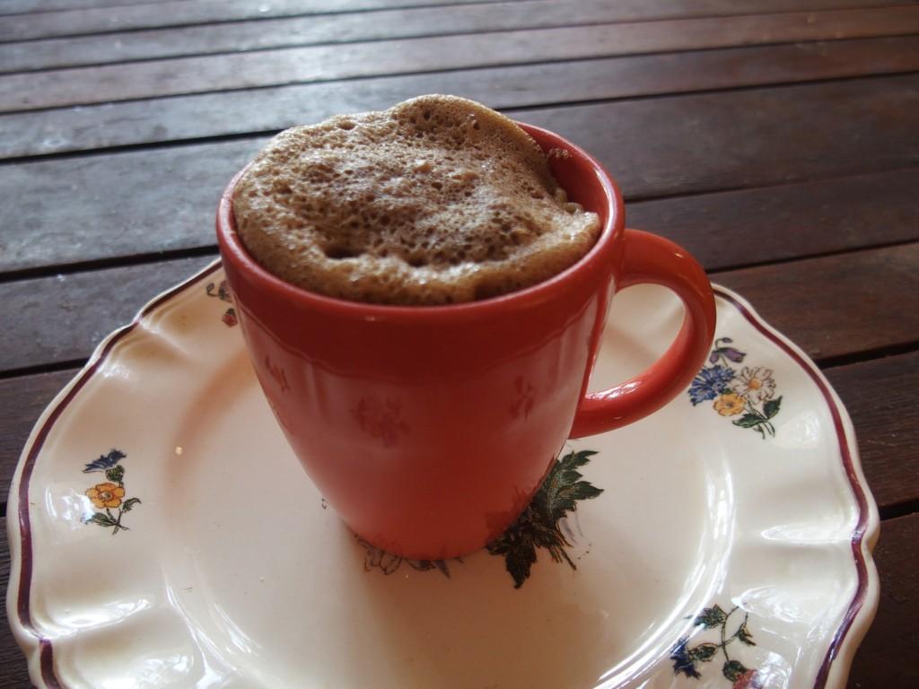 recette mug cake chocolat noisettes