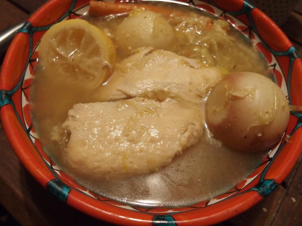 recette pot au feu poulet citron