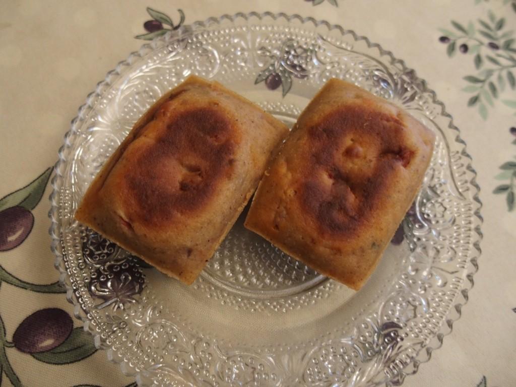 recette financiers chorizo comté olive