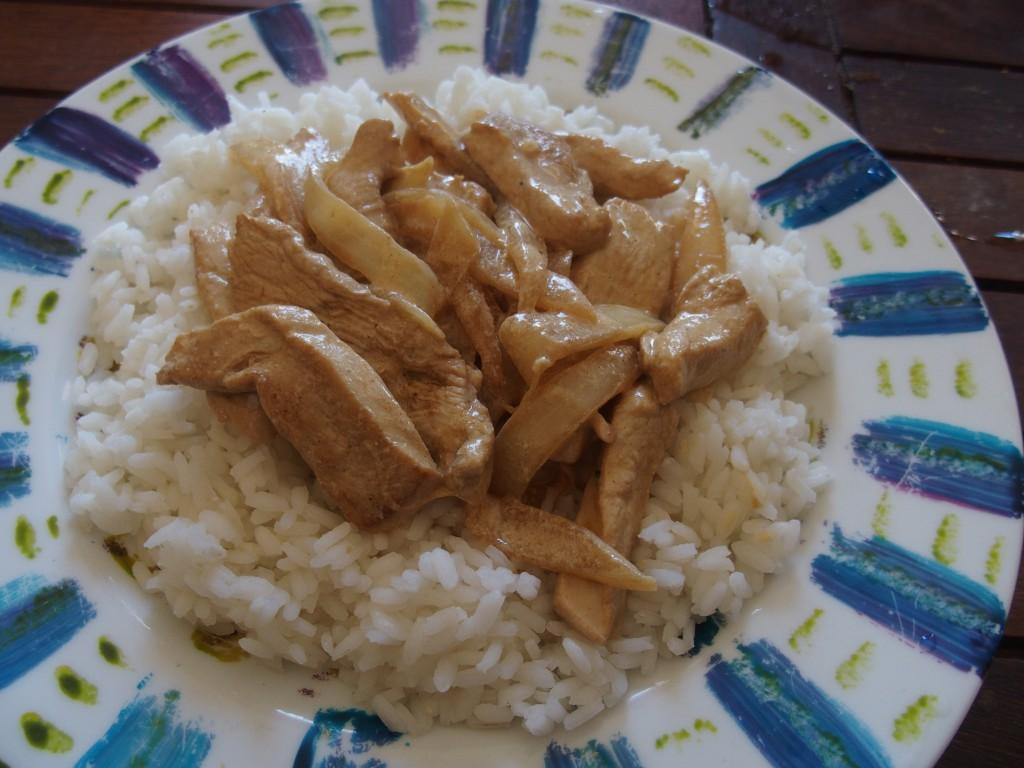 recette poulet strogonoff