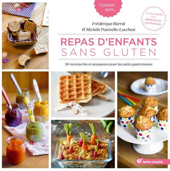 50 recettes bio créatives dans «Repas d'enfants sans gluten»