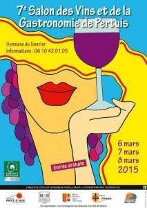 Salon vins Pertuis