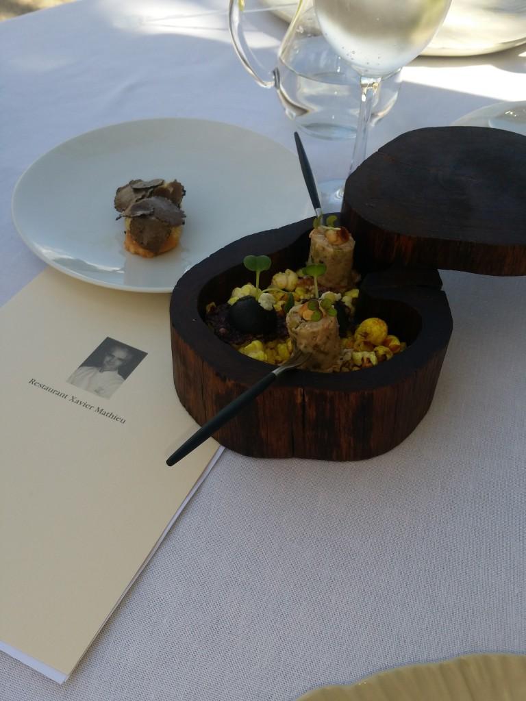 Xavier Mathieu restaurant