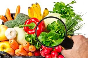 Lebensmittelkontrolle bei Obst und Gemüse